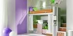 класни дизайнерски двуетажни детски стаи уютни