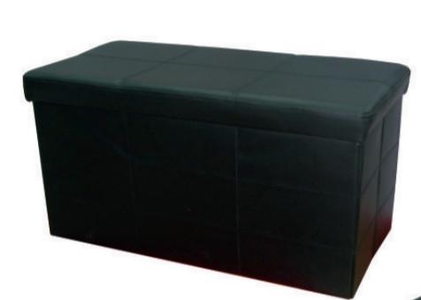 Табуретка-ракла ROLLY Duo черна
