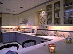 Кухня ретро в бяло