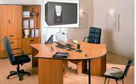 Бюра с вграден сейф Сейф Office 250 P комплект