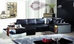 луксозна мека мебел с вградено барче